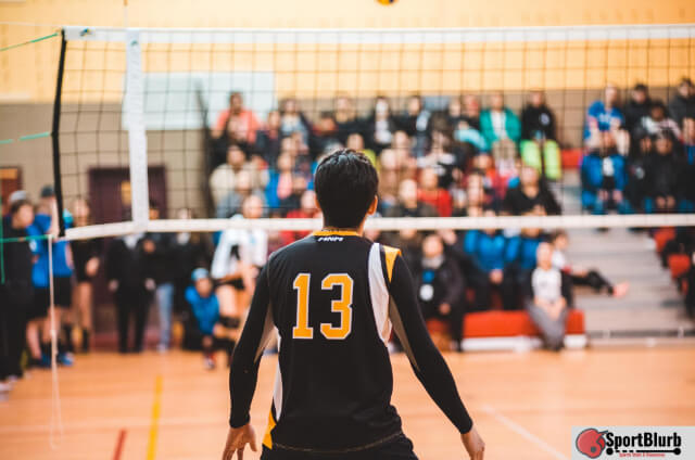 Different Color Jersey In Volleyball
