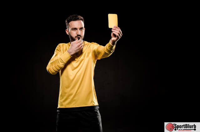 Yellow Card Mean In Volleyball