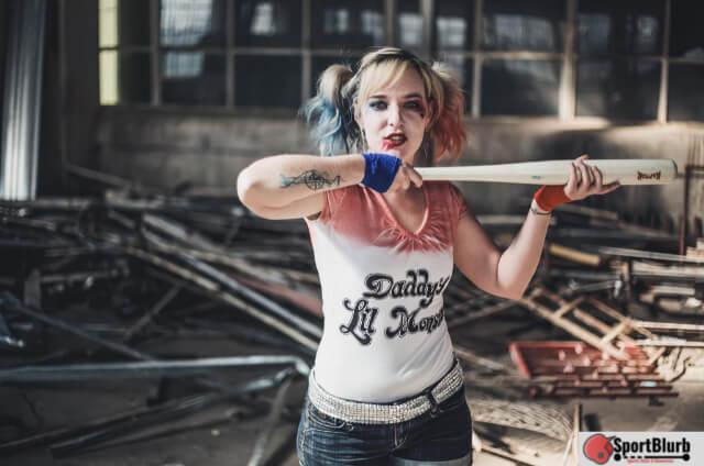 Harley Quinns Baseball Bat